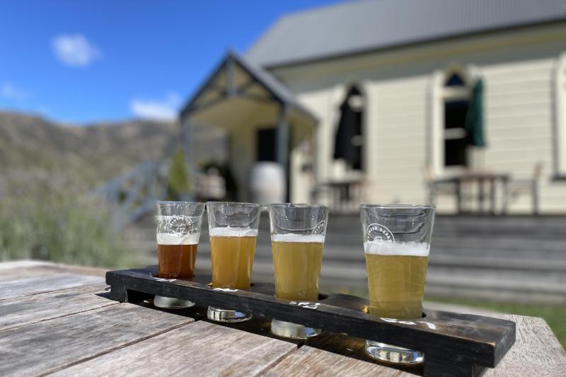 Cargo Brewery at Waitiri Creek Queenstown