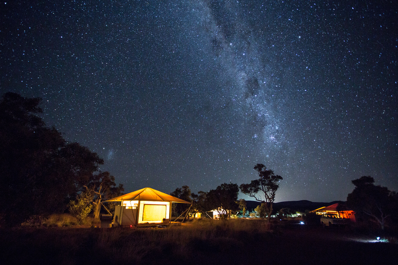 Eco-camping is a fantastic sustainable accommodation choice