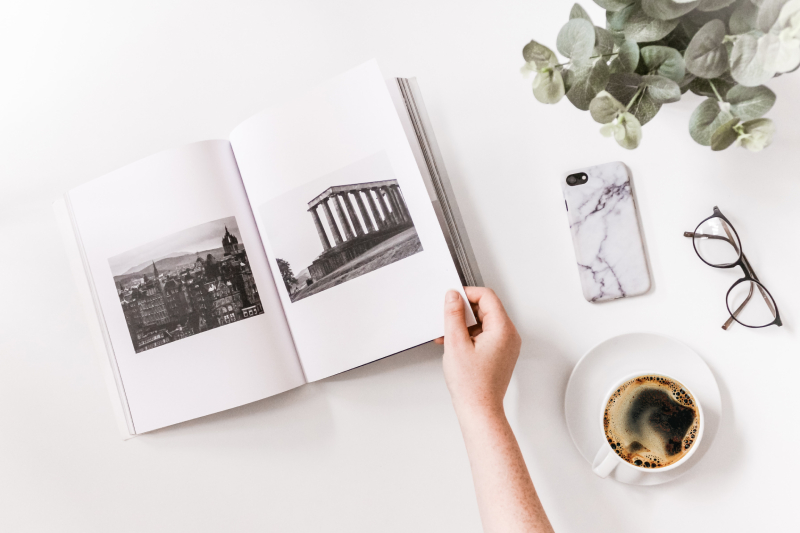 Make your own travel photo book for past trip