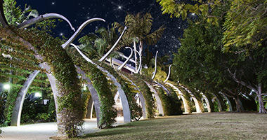 Southbank Parklands by Starlight