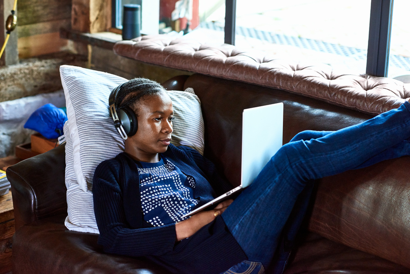 Listen to language learning podcasts